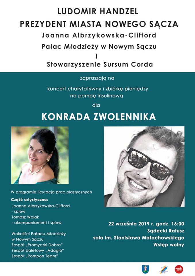 Koncert charytatywny dla Konrada Zwolennika