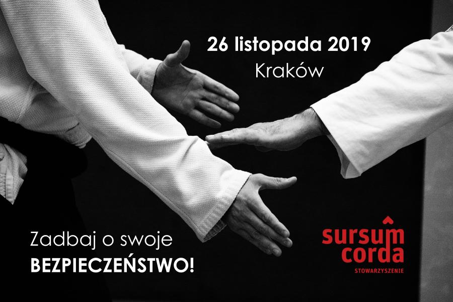 Szkolenie Kraków! Samoobrona dla pracowników służb społecznych