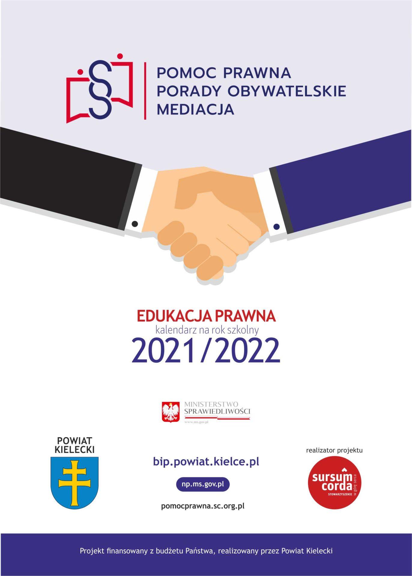 KIELECKI_Kalendarz nabiurkowy 2021-2022
