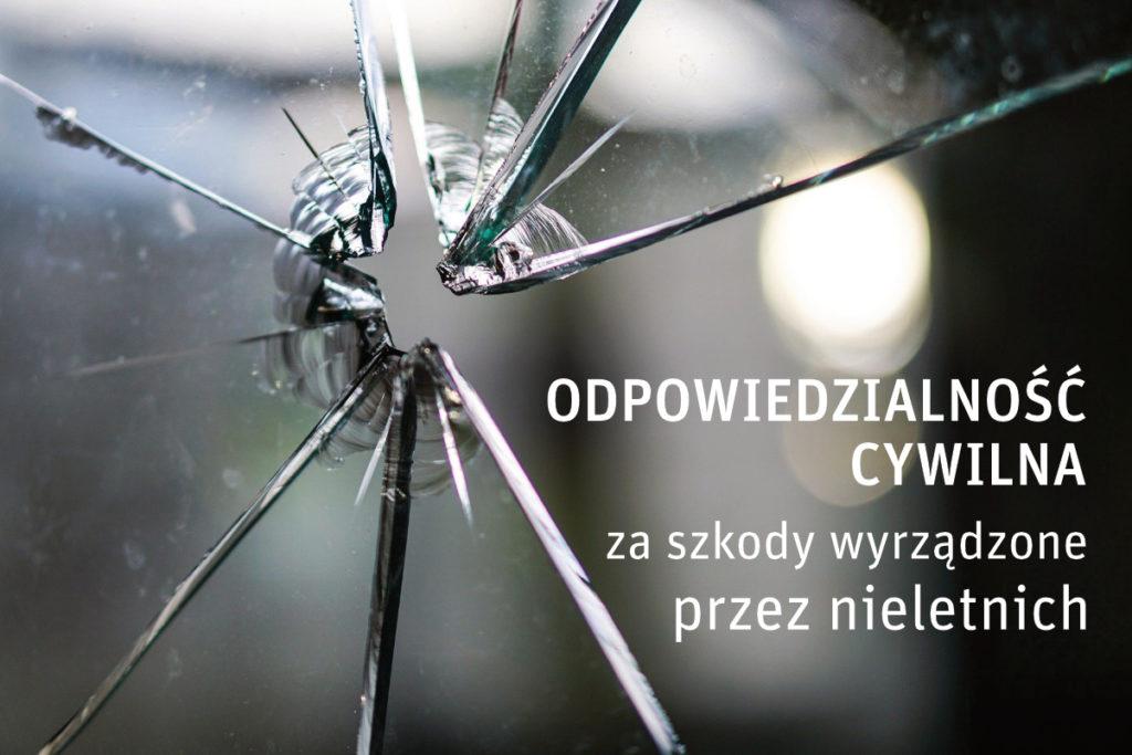 Odpowiedzialnosc cywilna za szkody wyrzadzone przez nieletnich
